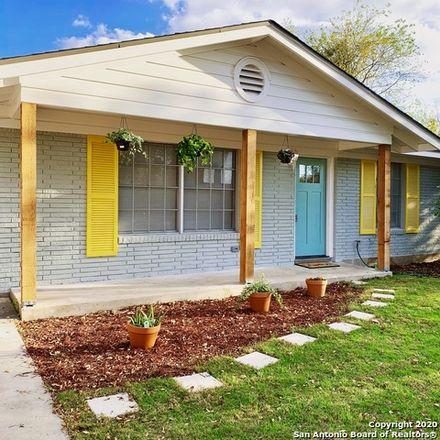 Rent this 3 bed house on 226 Salisbury Drive in San Antonio, TX 78217