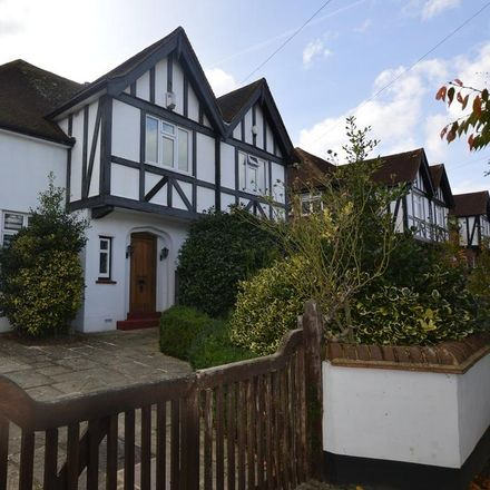 Rent this 3 bed house on Elmcroft Drive in London KT9 1ET, United Kingdom