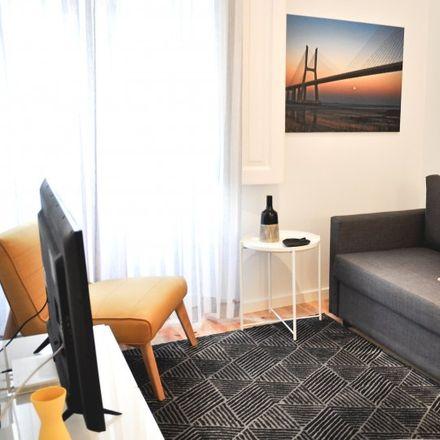 Rent this 1 bed apartment on City Hostel Lisbon in Rua General Garcia Rosado 10, R/C