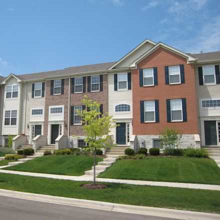 Rent this 3 bed townhouse on Thornbury Rd in Bartlett, IL