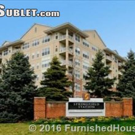 Rent this 1 bed apartment on 6660 Comet Circle in Springfield, VA 22150