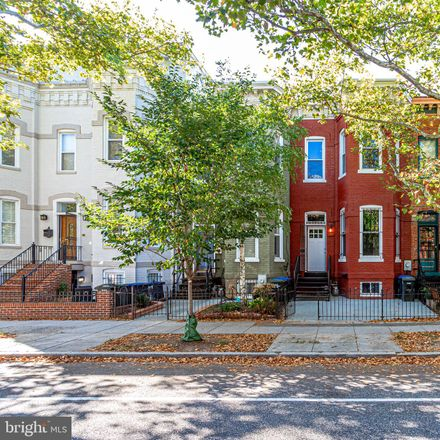 Rent this 3 bed townhouse on Q Street Northwest in Washington, DC 20001