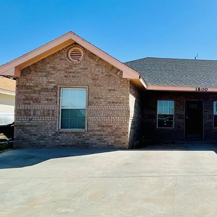 Rent this 3 bed house on 1800 North Main Street in Midland, TX 79705