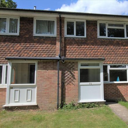 Rent this 3 bed house on Brookside Walk in Basingstoke and Deane RG26 3RW, United Kingdom