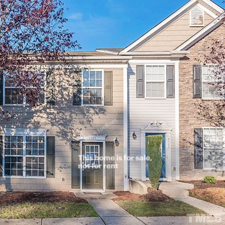 Rent this 3 bed townhouse on 8303 Clasara Circle in Raleigh, NC 27613