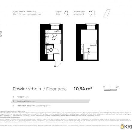 Rent this 1 bed apartment on Wydział Matematyki in Fizyki i Chemii - Instytut Chemii, Szkolna 9