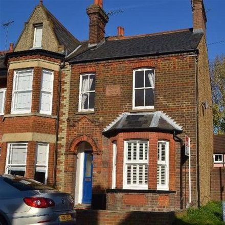 Rent this 1 bed apartment on Cowper Road in St Albans AL5 5NH, United Kingdom