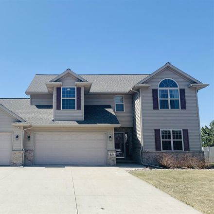 Rent this 4 bed house on 821 Severndroog Way in Howard, WI 54313