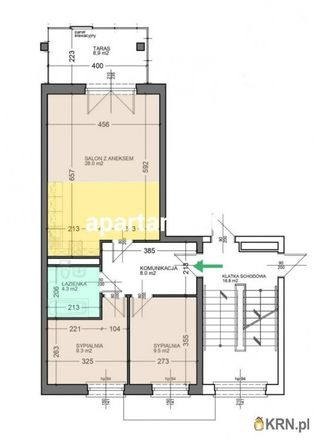 Rent this 3 bed apartment on Osiedle Śląskie 8b in 65-547 Zielona Góra, Poland