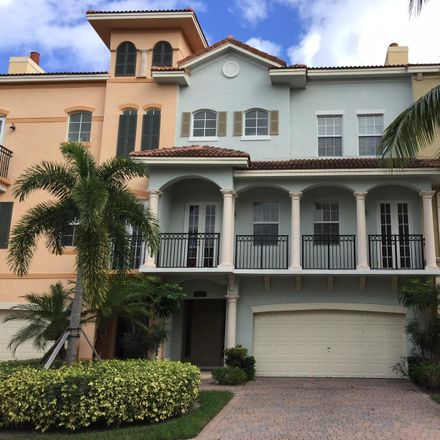 Rent this 3 bed townhouse on San Pietro Circle in Palm Beach Gardens, FL 33410