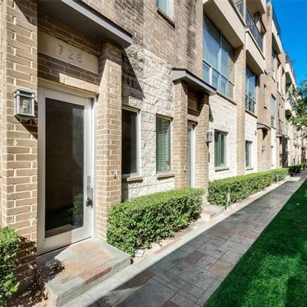 Rent this 3 bed condo on 728 Cannen John Lane in Dallas, TX 75204