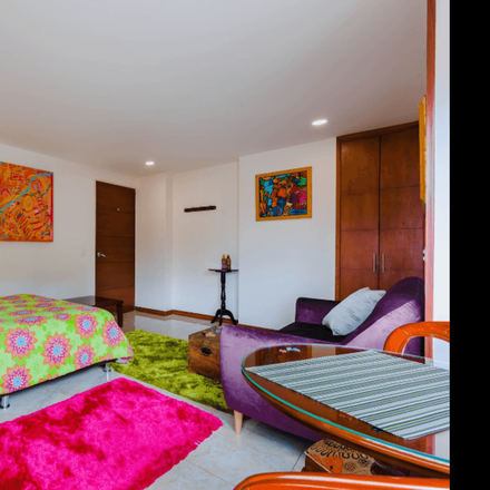 Rent this 1 bed apartment on Santa Fé in La Paz Central, BOGOTÁ