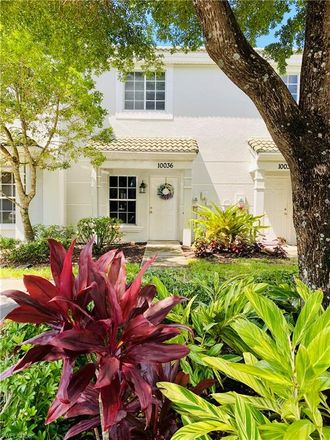 Rent this 2 bed townhouse on 10036 Poppy Hill Drive in Fort Myers, FL 33966