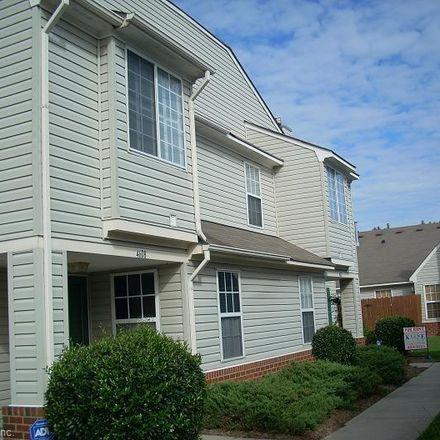 Rent this 3 bed condo on 4612 Woodmark Trail in Chesapeake, VA 23321