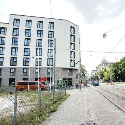 Rent this 1 bed apartment on Berliner Straße 12 in 04105 Leipzig, Germany