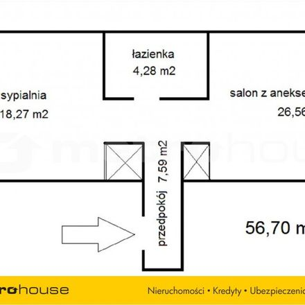 Rent this 2 bed apartment on 40-096 Katowice