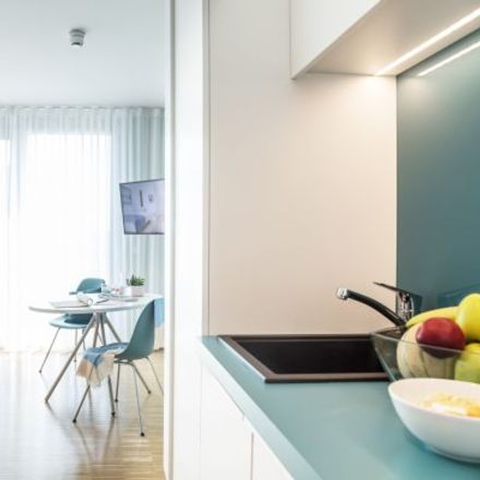 Rent this 1 bed apartment on Gneisenaustraße 24 in 80992 Munich, Germany
