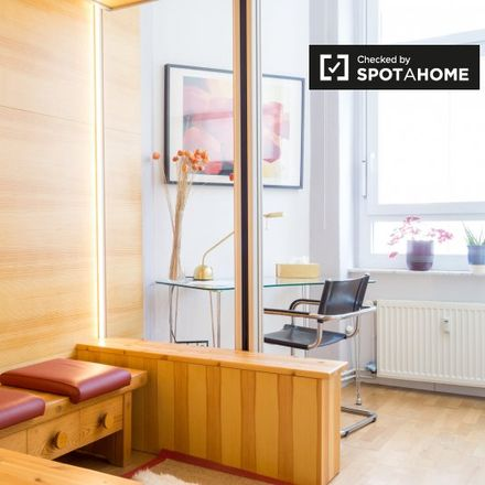 Rent this 1 bed apartment on Andersenstraße 1 in 10439 Berlin, Germany