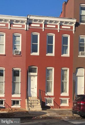 Rent this 3 bed townhouse on 1412 North Eden Street in Baltimore, MD 21213