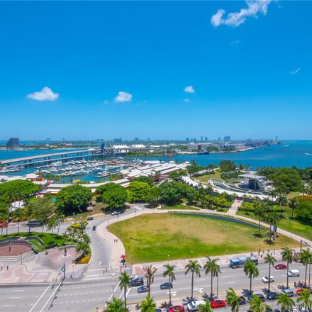 Rent this 2 bed condo on T-Mobile in 244 Biscayne Boulevard, Miami