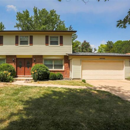 Rent this 4 bed house on 15723 Hill House Road in Chesterfield, MO 63017