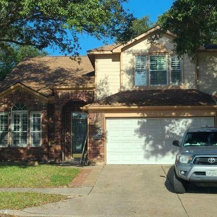 Rent this 4 bed house on 4100 Sablemist Court in Harris County, TX 77014