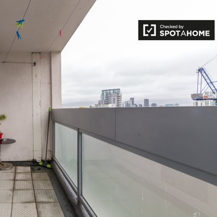 Rent this 1 bed apartment on 52 Arrow Road in London E3 3HF, United Kingdom