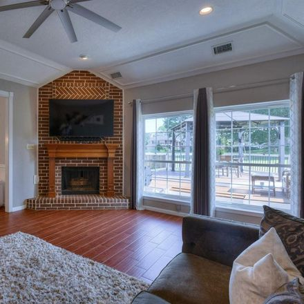 Rent this 4 bed house on 7222 N Hearthstone Green Dr in Houston, TX