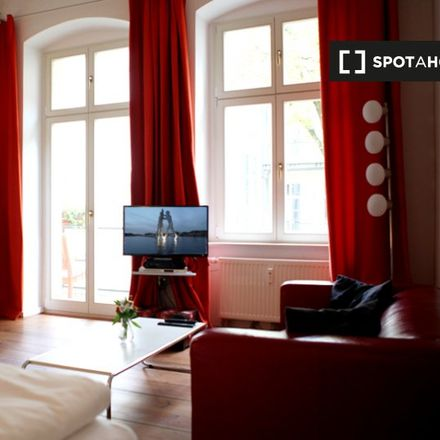 Rent this 1 bed apartment on Rykestraße 39 in 10405 Berlin, Germany