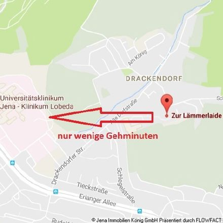Rent this 3 bed apartment on Zur Lämmerlaide 1 in 07751 Jena, Germany
