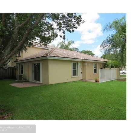 Rent this 3 bed townhouse on 5337 Northwest 90th Avenue in Sunrise, FL 33351