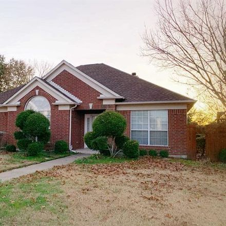 Rent this 3 bed house on 1209 Woodthorpe Drive in Mesquite, TX 75181