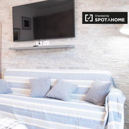 Rent this 1 bed apartment on Via del Portico Placidiano in 00121 Fiumicino Roma Capitale, Italy