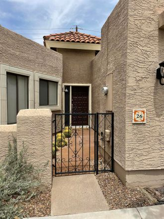 Rent this 2 bed townhouse on 5812 North 12th Street in Phoenix, AZ 85014