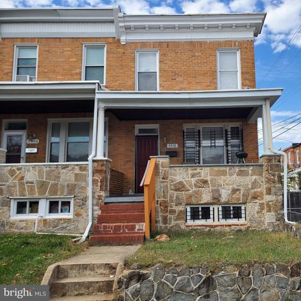 Rent this 3 bed townhouse on 4418 Kavon Avenue in Baltimore, MD 21206