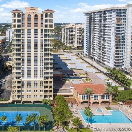 Rent this 2 bed condo on 2080 South Ocean Drive in Golden Isles, FL 33009