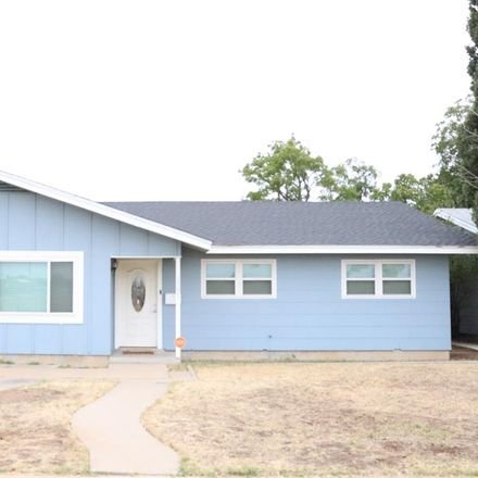 Rent this 3 bed house on 1701 East 46th Street in Odessa, TX 79762