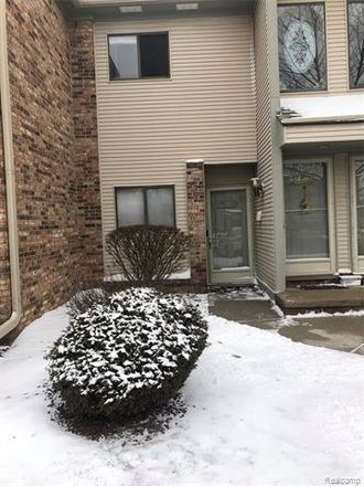 Rent this 2 bed condo on 42804 Lilley Pointe Drive in Canton, MI 48187