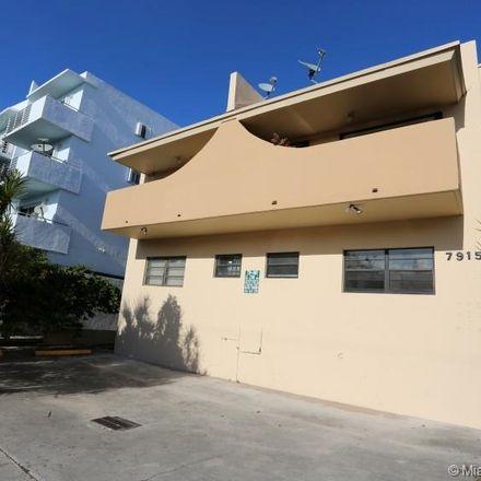 Rent this 1 bed condo on 7915 Harding Avenue in Miami Beach, FL 33141