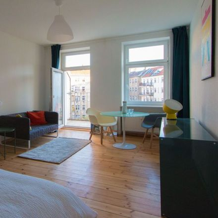Rent this 1 bed apartment on Naugarder Straße 41 in 10409 Berlin, Germany