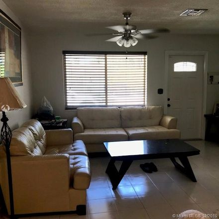 Rent this 1 bed apartment on Fillmore St in Hollywood, FL