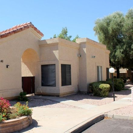 Rent this 3 bed townhouse on 1111 West Summit Place in Chandler, AZ 85224