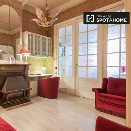 Rent this 1 bed apartment on Avenue Palmerston - Palmerstonlaan 13 in 1000 Ville de Bruxelles - Stad Brussel, Belgium