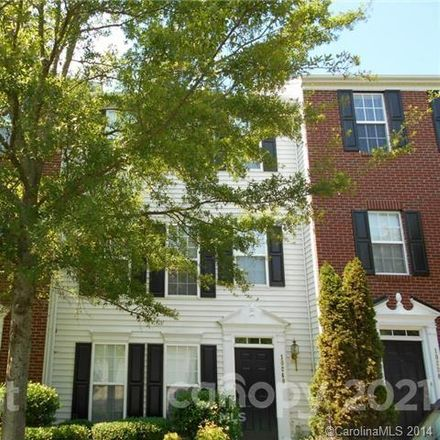 Rent this 3 bed townhouse on 10252 Alexander Martin Avenue in Charlotte, NC 28277