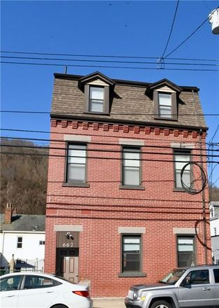 Rent this 1 bed apartment on 667 Evergreen Avenue in Millvale, PA 15209