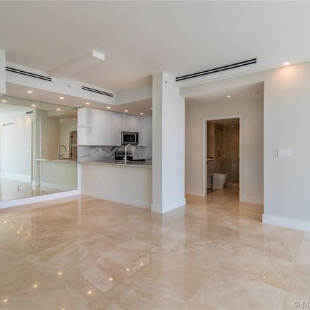 Rent this 2 bed condo on The Floridian Apartments in 650 West Avenue, Miami Beach