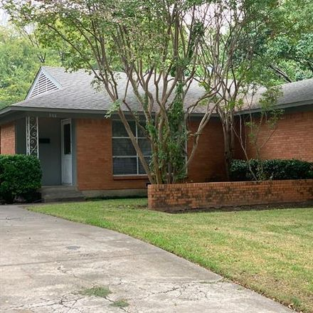 Rent this 3 bed house on 888 Berkinshire Drive in Dallas, TX 75218