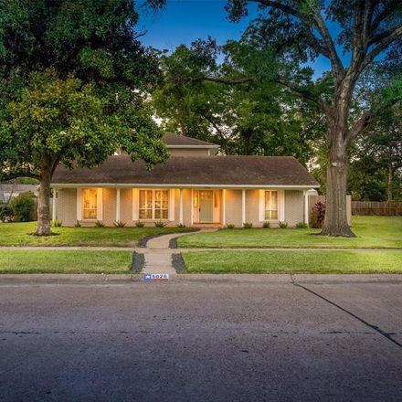 Rent this 4 bed house on 5026 Saxon Drive in Houston, TX 77092