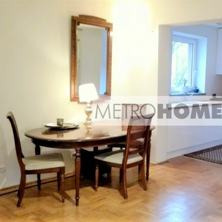 Rent this 3 bed apartment on Ptasia in 00-136 Warsaw, Poland
