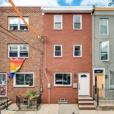 Rent this 3 bed townhouse on 2063 East Sergeant Street in Philadelphia, PA 19125